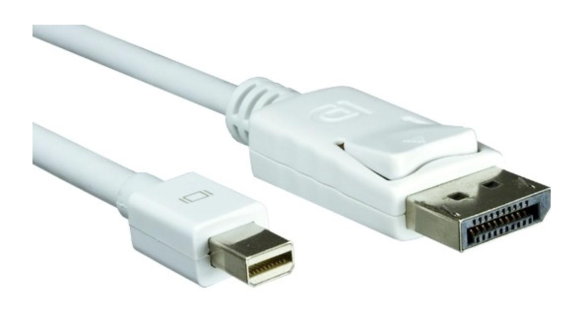DINIC Mini DisplayPort auf DisplayPort Kabel MDP-DP-2