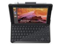 """Logitech SLIM FOLIO mit integrierter Bluetooth-Tastatur für iPad 9.7"""""""