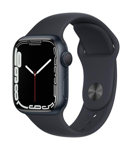 Apple Watch Series 7 Aluminium Mitternacht