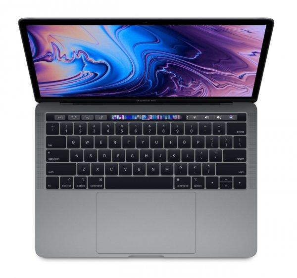 "Apple MacBook Pro 13"" (2019), 2.4 GHz i5, 8 GB, 256 GB SSD, Touch Bar und Touch ID, Space Grau"