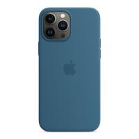 Apple iPhone 13 Pro Max Silikon Case Eisblau