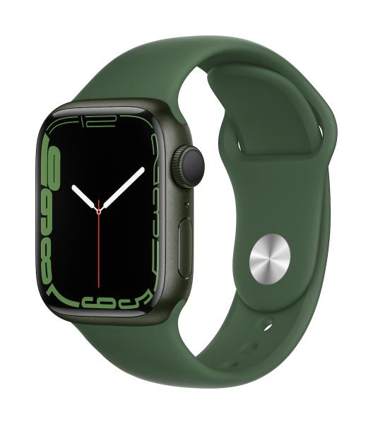 Apple Watch Series 7 Aluminium Grün