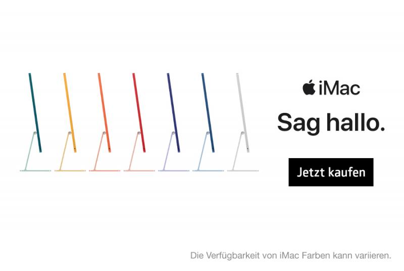 Der neue iMac. Jetzt kaufen!