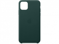 Apple iPhone 11 Pro Max Leder Case, Waldgrün