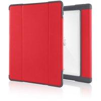 """STM Dux Plus Case für Apple 12,9"""" iPad Pro (2017), Rot/Transparent"""