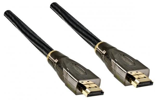 Dinic Dubai Range Premium HDMI Kabel, 5m, schwarz
