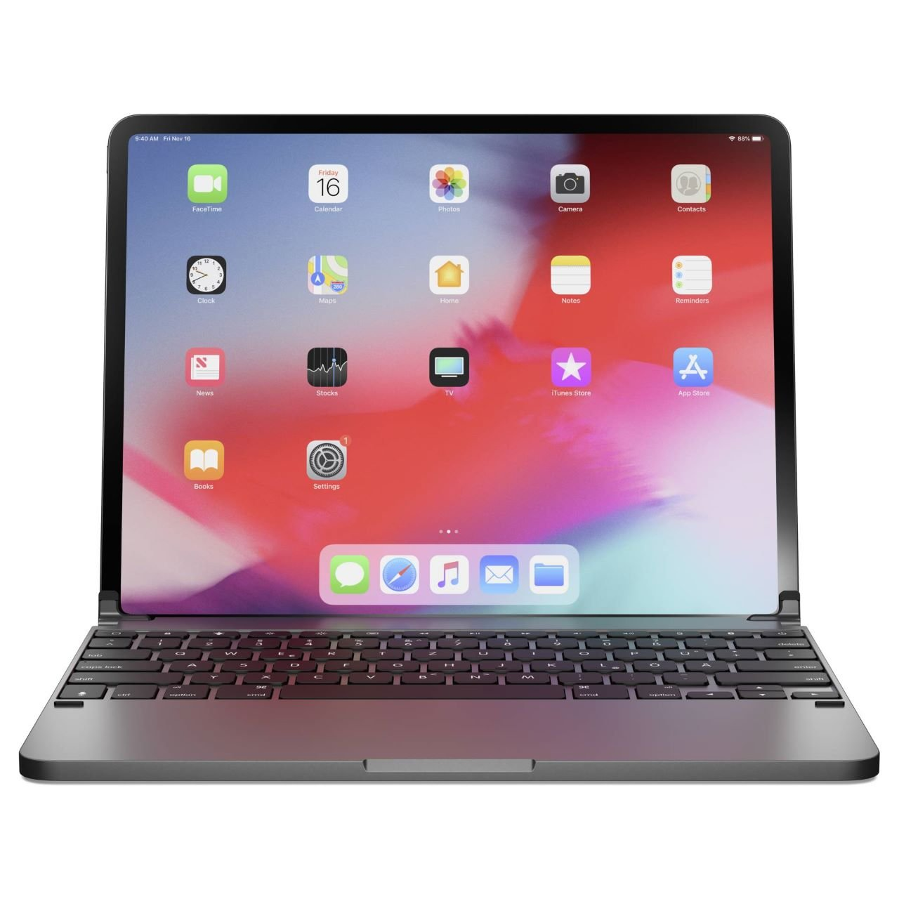 Brydge iPad Pro Tastatur Space Grau iPad Pro 11