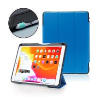 """DEQSTER Rugged Case (2021) für iPad 10.2"""" (7./8./9. Gen.) Bright Azure"""