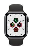 Apple Watch Series 5 Edelstahlgehäuse Space Grau