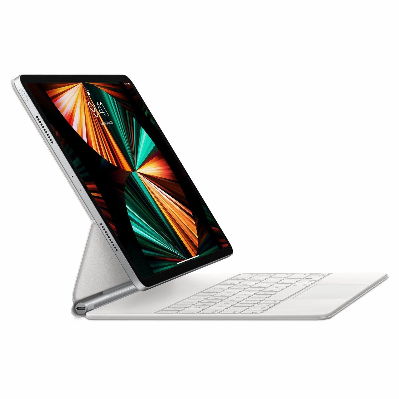 Apple Magic Keyboard Weiß US Englisch MJQL3LB/A