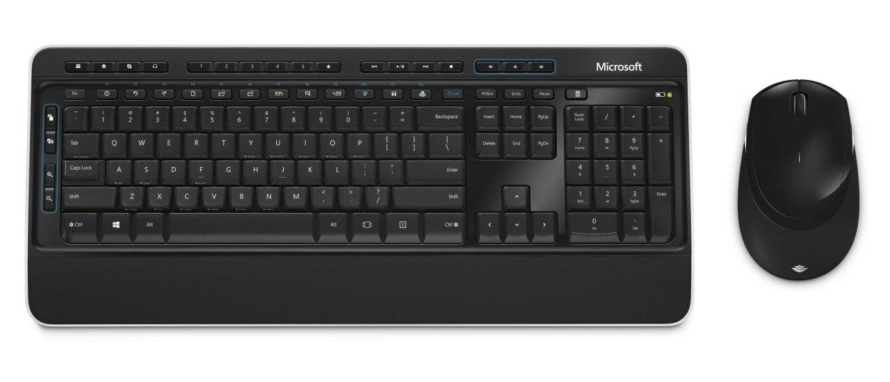 Microsoft Wireless Desktop 3050 - Tastatur-und-Maus-Set - drahtlos PP3-00008