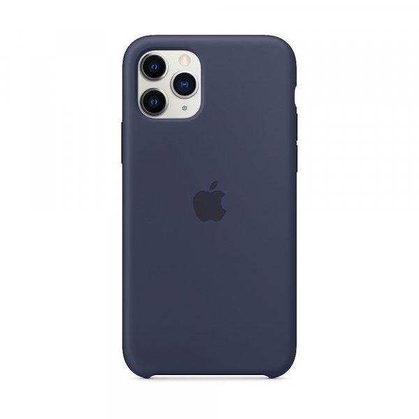 Apple iPhone 11 Pro Silikon Case, Mitternachtsblau