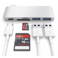 Satechi Type-C USB Passthrough Hub