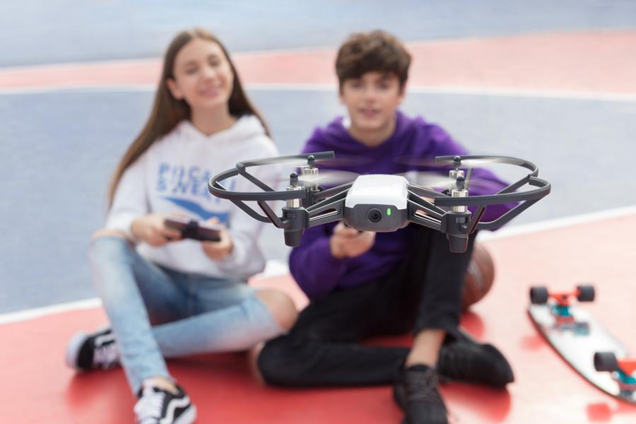 Drohnentest-Aktionsvorschau