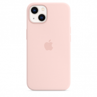 Apple iPhone 13 Silikon Case Kalkrosa