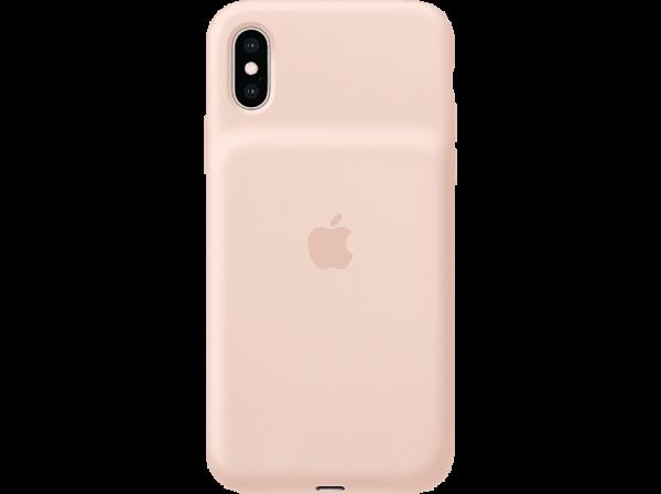 Apple Smart Battery Case für iPhone XS MAX, Sandrosa