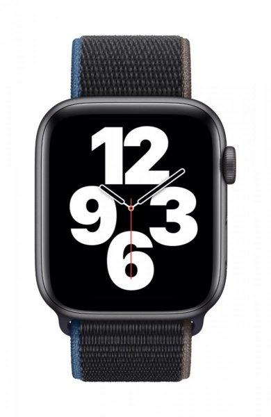 Apple Watch SE, GPS + Cellular, 44 mm, Aluminium, Space Grau, Sport Loop Kohlegrau