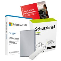 Back To School Bundle Mobile Drive - Silber