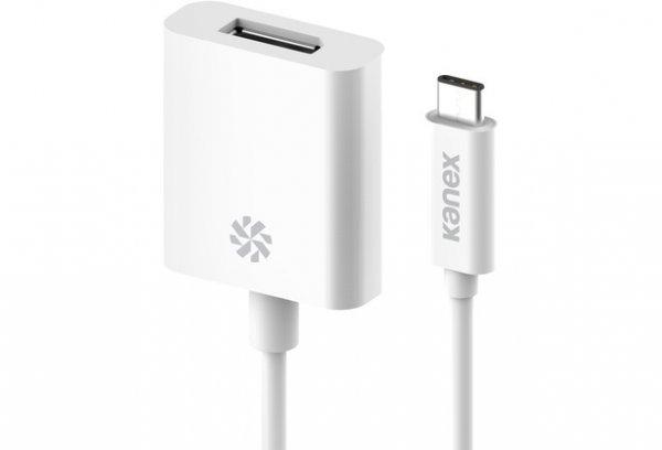 Kanex USB-C auf DisplayPort 4K, Weiß