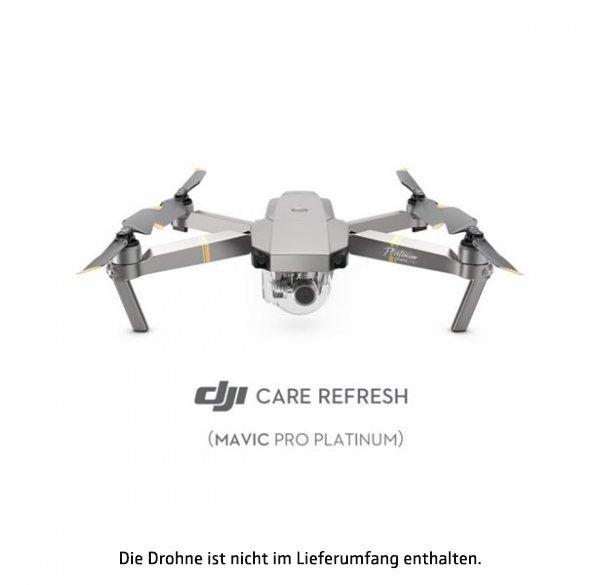 DJI Care Refresh (Mavic Pro Platinum), Serviceerweiterung für Mavic Pro Platinum, 1 Jahr Laufzeit