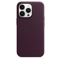 Apple iPhone 13 Pro Leder Case Dunkelkirsch