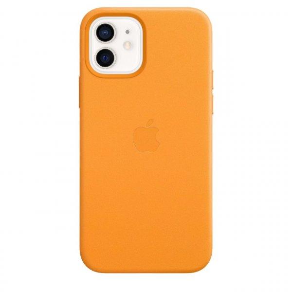 Apple iPhone 12 / 12 Pro Leder Case mit MagSafe