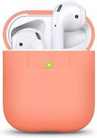 ELAGO AirPod Silikon Case Peach