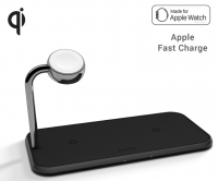 Zens Aluminium Dual Wireless Charger
