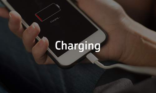 Charging bei COMSPOT