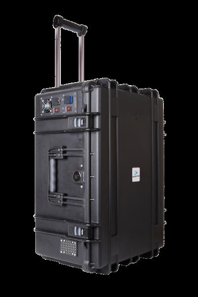 DEQSTER Tablet-Koffer KT20C Plus für 20 iPads oder Galaxy Tabs integr. USB-Lademodul