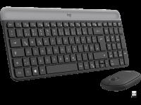 Logitech MK470 Grau