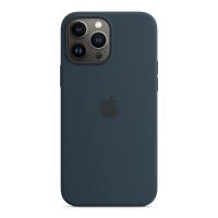 Apple iPhone 13 Pro Max Silikon Case Abyssblau