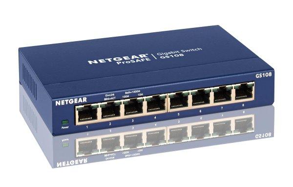 Netgear 5-Port GBIT Switch GS105