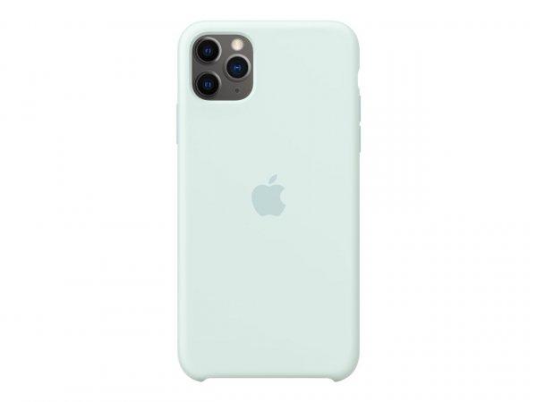 Apple iPhone 11 Pro Max Silikon Case, Meerschaum