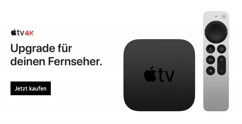 AppleTV 4K. Jetzt kaufen!
