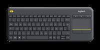 Logitech Wirless Touch Keyboard K400 Plus Schwarz