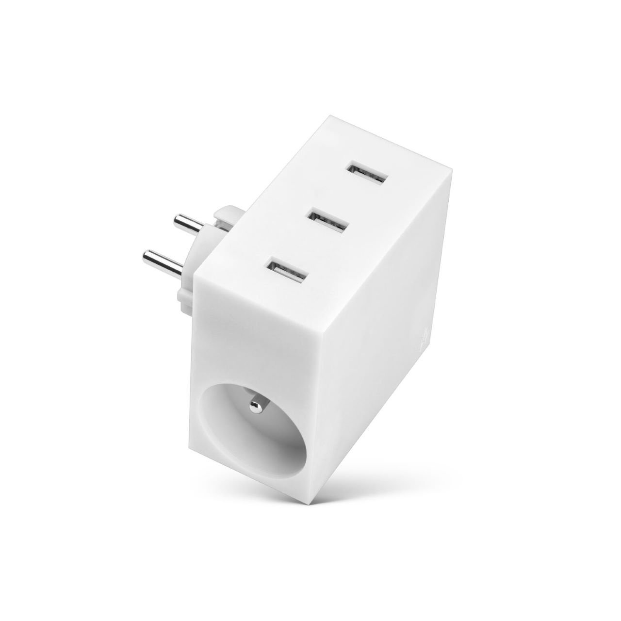 usbepower HIDE 5-in-1 wall-charger, weiß HIDE4.4WH