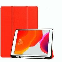 """DEQSTER Slim Trifold Case für iPad 10.2"""" (7./8./9. Gen.) Rot"""