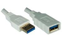 Dinic USB 3.0 Verlängerung, A St. auf B Bu.