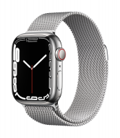 Apple Watch Series 7 Edelstahl Silber