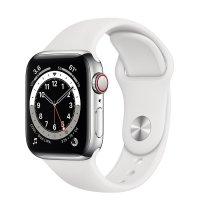 Apple Watch Series 6 Edelstahl Silber