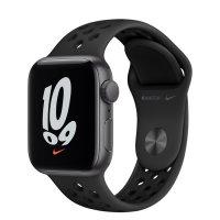 Apple Watch Nike SE Aluminiumgehäuse Space Grau