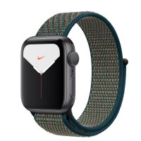 Apple Nike Sport Loop Hyper Crimson/Neptune Green