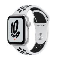Apple Watch Nike SE Aluminiumgehäuse Silber