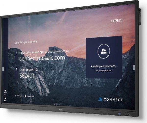 """NEC Display MultiSync CB751Q, 75"""", 4K, LED"""