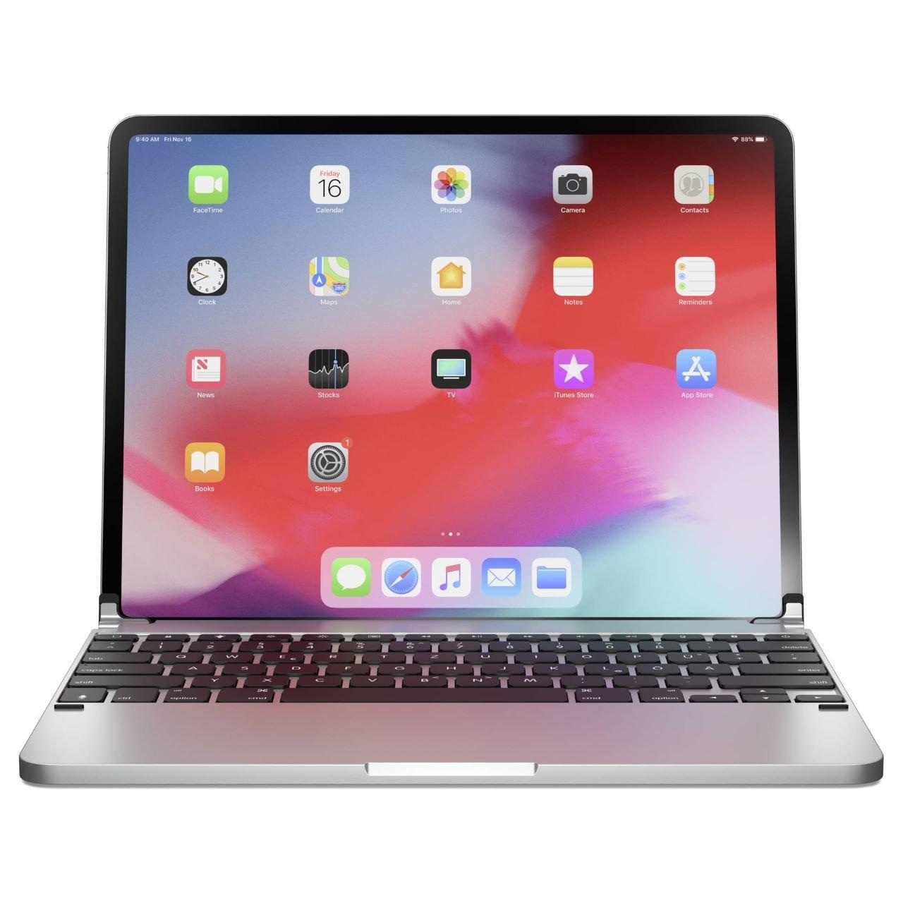 Brydge iPad Pro Tastatur Silber iPad Pro 12.9