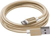 LAUT The Link Metallic Kabel Gold