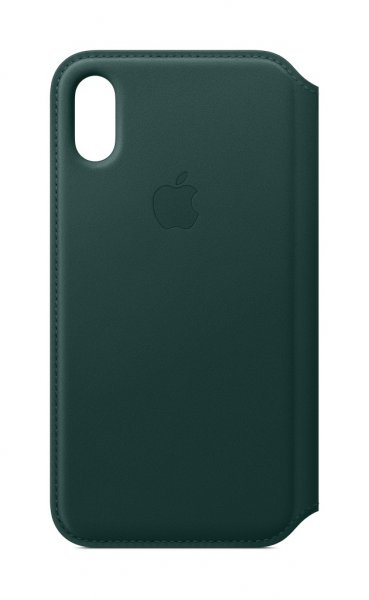 Apple iPhone XS Leder Folio