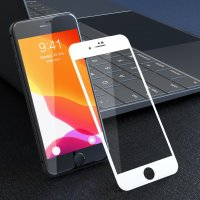 Devia 3D Curved Tempered Glass Weiß
