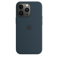 Apple iPhone 13 Pro Silikon Case Abyssblau